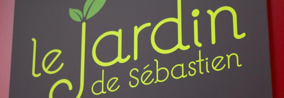 Enseigne : Le Jardin de Sébastien